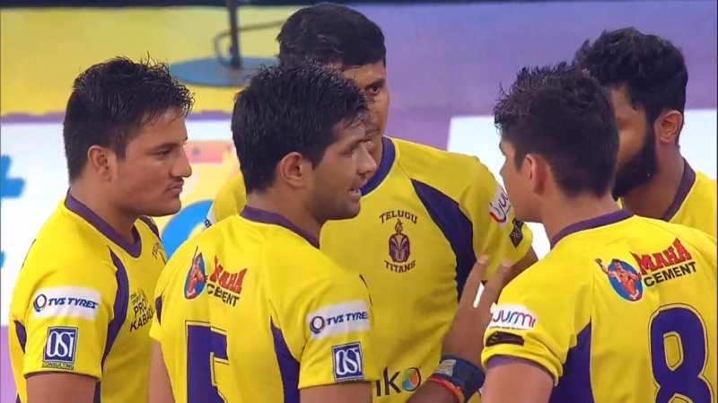 Pro Kabaddi: Telugu Titans beat Patna Pirates to 3rd place with a 34-26 win