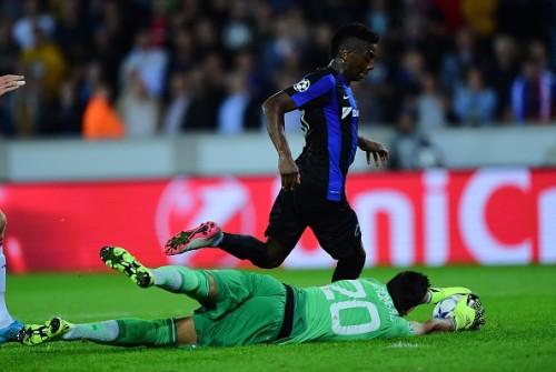 Sergio Romero save Club Brugge