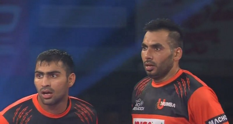 Pro Kabaddi: U Mumba back on top of the table