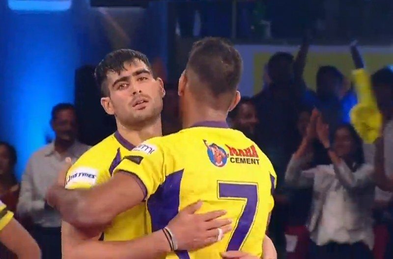 Pro Kabaddi: Telugu Titans score a mammoth 44-28 win over Bengal Warriors