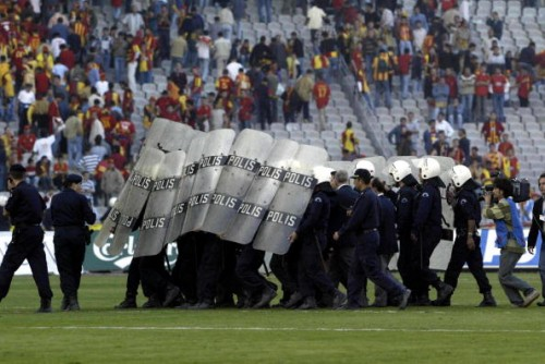 Turkish Riot Police Galatasaray fenerbahce