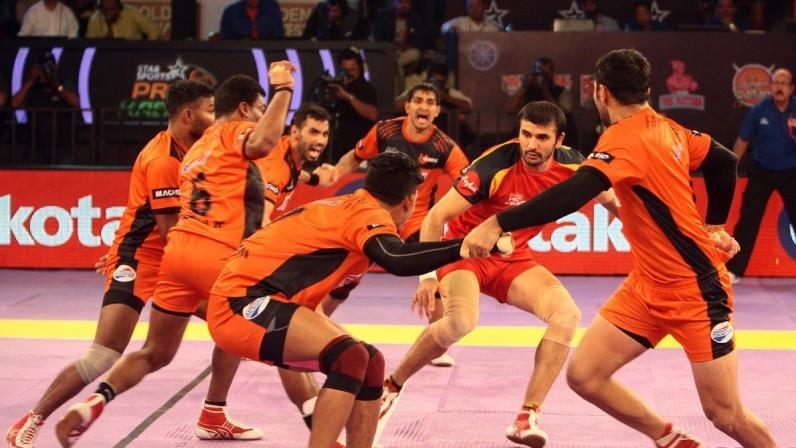 Pro Kabaddi: Bengaluru Bulls looking to gatecrash U Mumba's party in the final