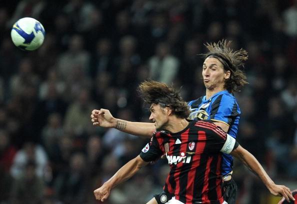 Zlatan Ibrahimovic Paolo Maldini