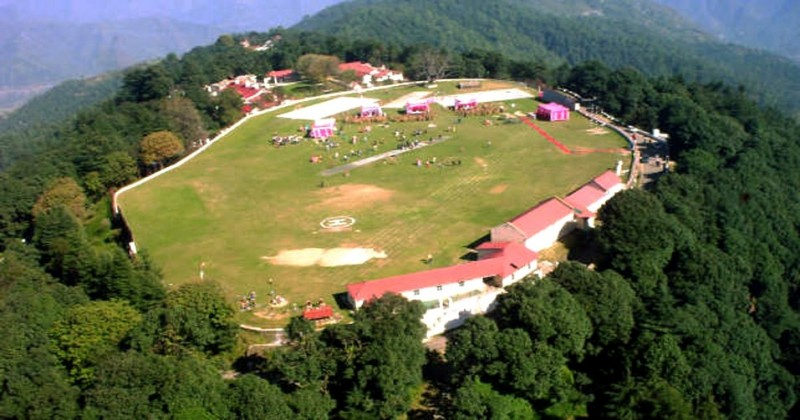 Image result for cricket ground in Chail