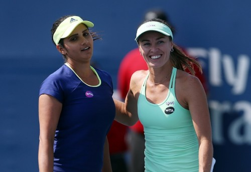 Mirza Hingis Rogers Cup