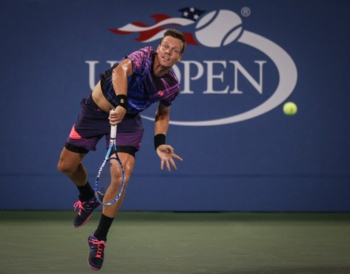 Tomas Berdych US Open 2015