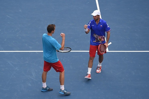Davis Cup: Czech Republic victorious as Stepanek/Pavlasek beat Bopanna/Paes in straight sets
