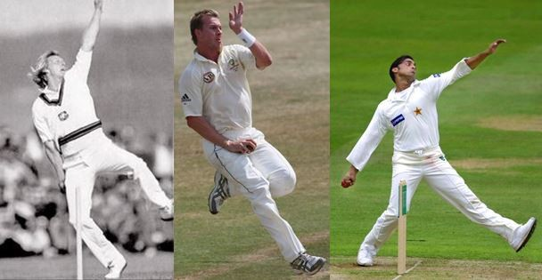 Cricket asian bowlers lee
