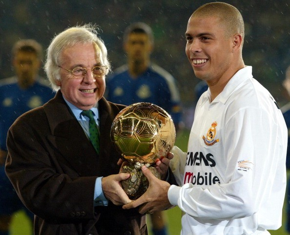 FIFA World Player of the Year 2002 Ronaldo