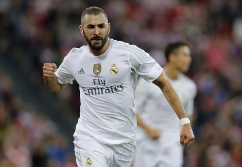 Karim Benzema goals Real Madrid 2-1 Athletic Bilbao