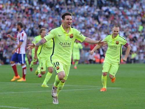 Lionel Messi goal Atletico Madrid