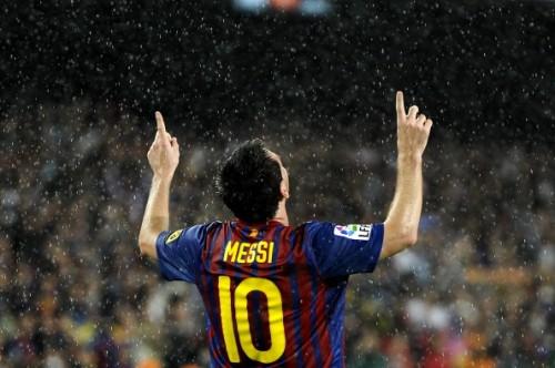 Messi hat-trick Barcelona Atletico Madrid