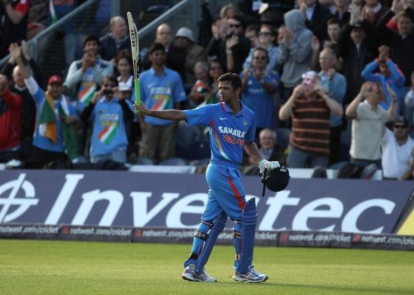 Image result for rahul dravid last match
