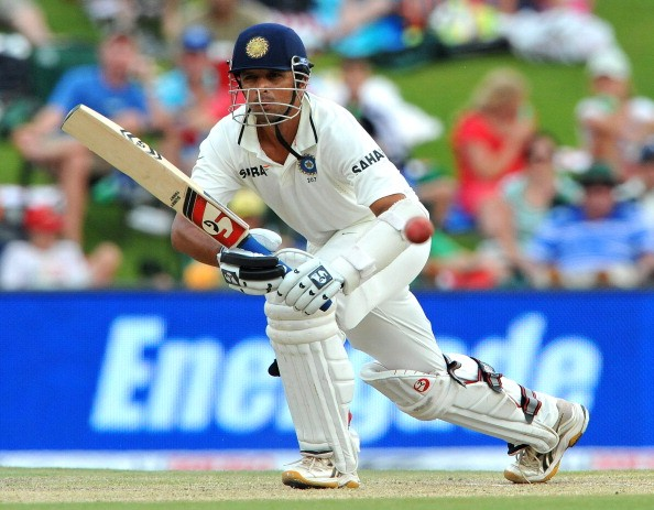 Image result for Dravid most time spent on crease