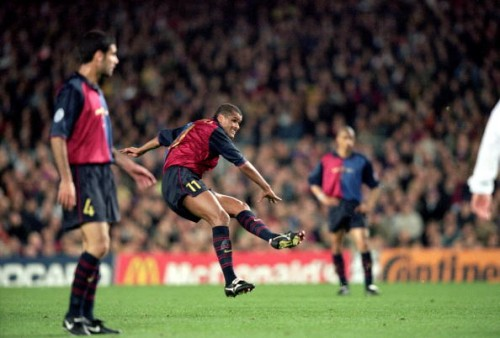 Rivaldo Barcelona goal