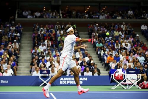 Roger Federer at the 2015 US Open