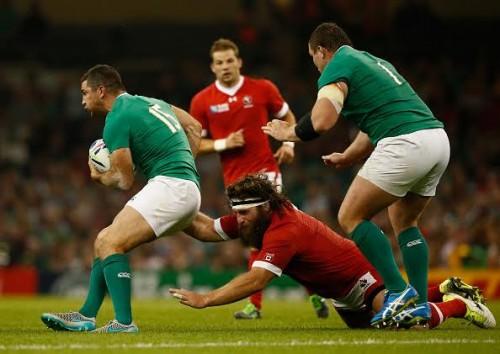Rugby World Cup Ireland Canada