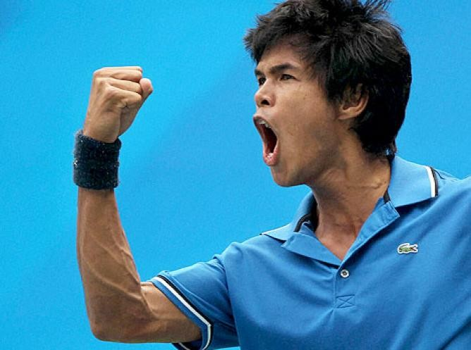 Devvarman outsmarts Vesely to secure a singles win for India in 2015 Davis Cup