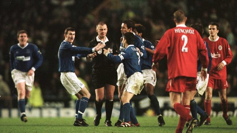 Ливерпуль - Эвертон, 2000 год. Арбитр Грэм Полл