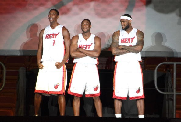 How many NBA titles have the Miami Heat won?