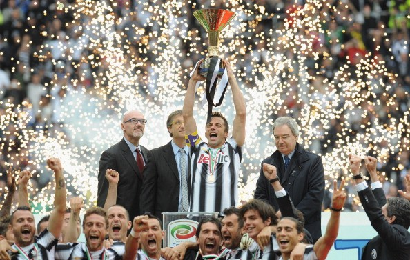 Juventus won the Serie A in the 2011-12 season, five seasons after getting relegated to the Serie B