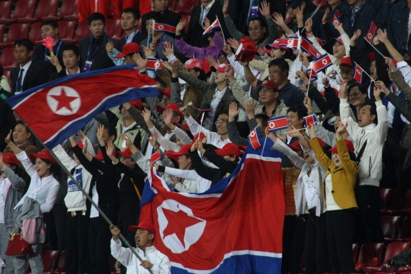 North Korea possess a very passionate away support, unlike their home crowds
