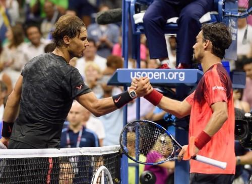 Nadal Fognini US Open 2015