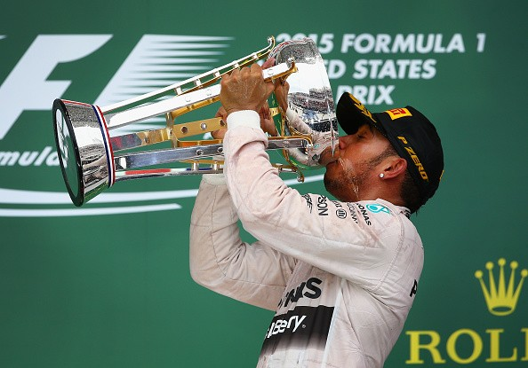 Lewis Hamilton wins US Grand Prix, takes 3rd World Championship