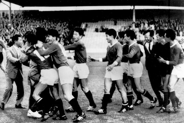 North Korea defeated a heavily favoured Italy team in the 1966 World Cup in England