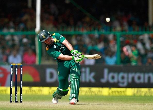 AB de Villiers - First batsman to hit 50 sixes in ODIs and 60 ...
