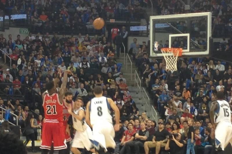 Nba Chicago Bulls Beat Minnesota Timberwolves In Pre Season Game
