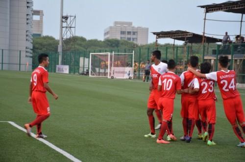 U18 I league DSK Shivajians 12-0 Mumbai FC