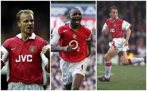 Dennis Bergkamp, Patrick Viera and David Platt all negotiated image right deals before joining Arsenal