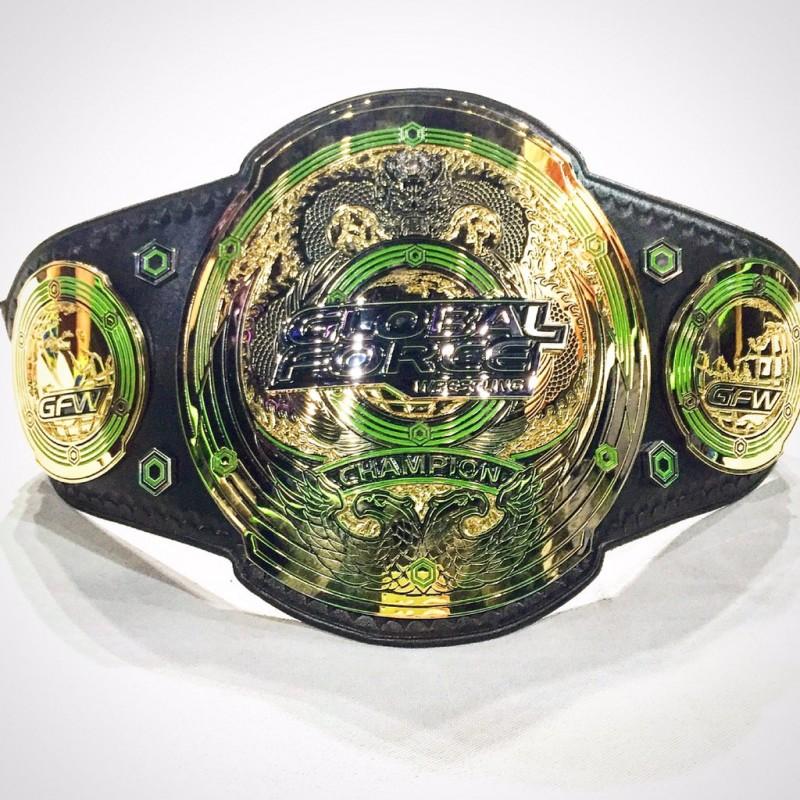 4ec54dffeee222 Global Force Wrestling championship belts revealed