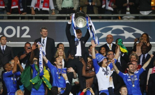 Di Matteo famously led Chelsea to Champions League glory beating the mighty Bayern Munich in their own backyard