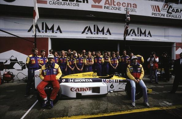 Nigel Mansell Nelson Piquet Williams