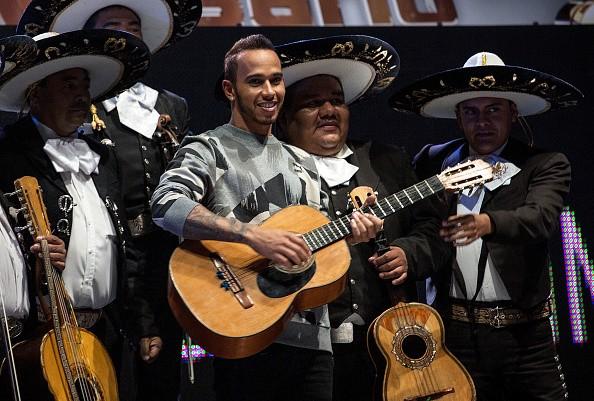 Lewis Hamilton 2015 Mexican Grand Prix