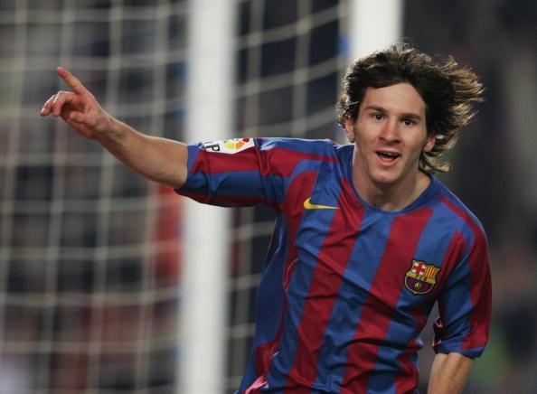 Kết quả hình ảnh cho Lionel Messi young