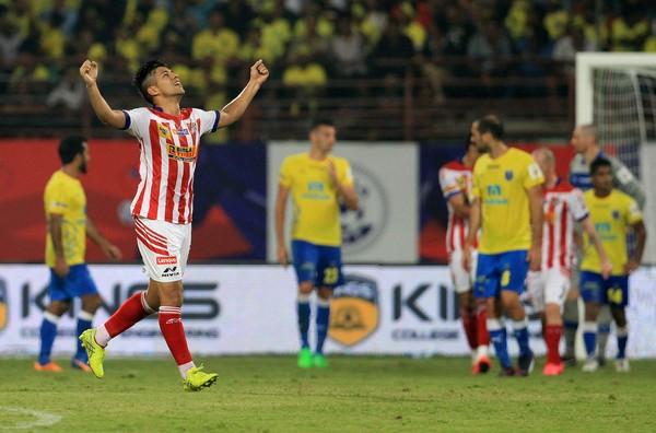 Atletico de Kolkata Arata Izumi goals Kerala Blasters