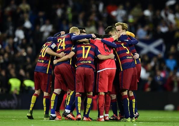Neymar helps Barcelona hammer Real Madrid 4-0 at the Santiago Bernabeu