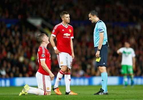 Bastian Schweinsteiger Morgan Schneiderlin Manchester United