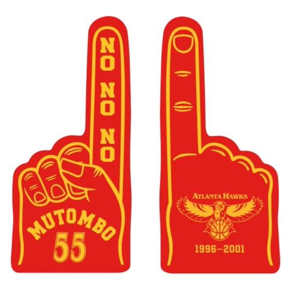 The Atlanta Hawks Retire Dikembe Mutombo's Number '55' Jersey