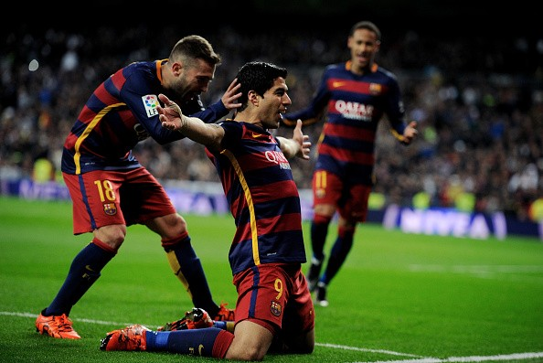 page 5 iconic moments and images from el clasico as barcelona thrash real madrid 4 0