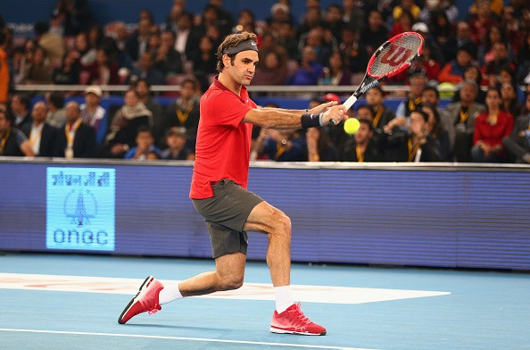 Roger Federer IPTL UAE Royals Indian Aces