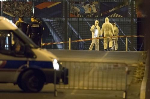 France v Germany Stade De France explosions