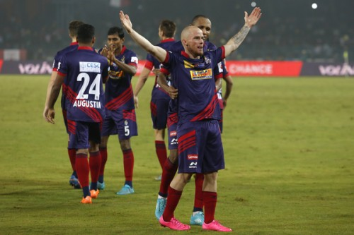 Iain Hume ISL hat-trick Atletico de Kolkata FC Pune City