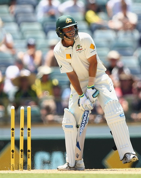10 best images from the 1st day's play of 2nd Test between Australia and New Zealand