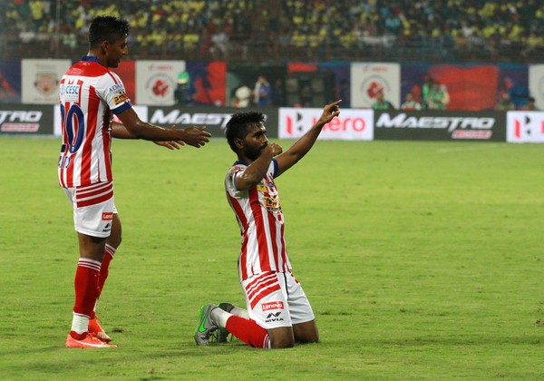 Mohanraj Nallapan goal Atletico de Kolkata Kerala Blasters