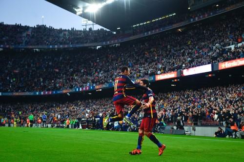 Neymar Luis Suarez Barcelona Villareal
