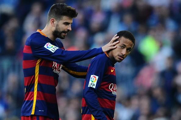 Neymar Pique Barcelona Villareal